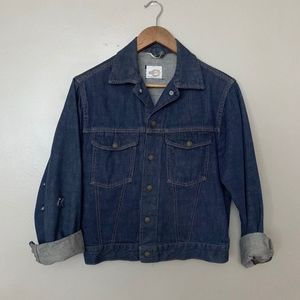 Vintage Bar C Authentic Western Denim Jacket